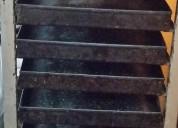 Carro latero con bandejas lata enlozadas