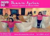 Danzas Árabes para nenas en paternal