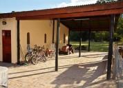 Casas para vacacionar con pileta, parrillas, cocheras 6 personas