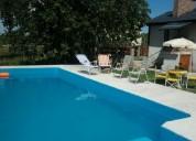 Chalet quincho piscina parque hasta 8 pers !!!