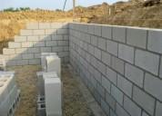 Oportunidad!. construcciones/albañileria en gral.