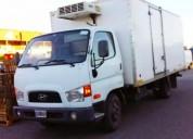 Excelente hyundai hd 78 con furgon termico funcionando