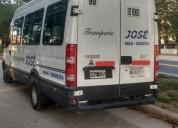 Vendo mini bus iveco, contactarse.