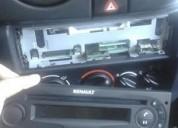 Estereo stereo renault desmontable para linea renault.