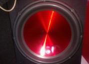 Vendo juego de woofer audiopaipe de 15 pulgadas