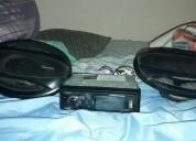 Vendo excelente combo completo stereo y parlantes