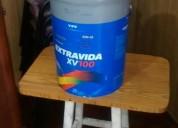 Vendo aceite extravida xv100 de 20lt, contactarse.