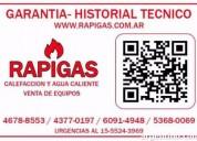 Reparacion de termotanque industrial tameco 1155243969 24 hs