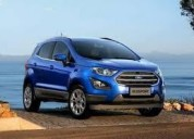 Ecosport en cuotas con tu dni ford oficial,  contactarse.