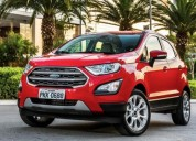Ford ecosport totalmente financiado, contactarse.