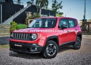 Excelente jeep renegade sport plus 1.8 4x2 mt5 130cv