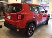 Jeep renegade rojo. oportunidad única.