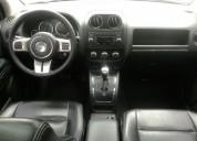 Excelente jeep compass 2.4 limited aut, 2012, nafta