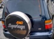 Excelente kia sportag diesel 4 x 4 año 1996