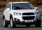 Chevrolet captiva nueva lt mt 2.4 4x4, contactarse.