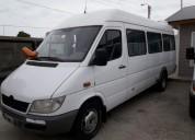 Excelente mercedez benz sprinter 413 19 asientos minibus 2012
