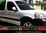 Partner patagonica hdi 1.6 vtc plus 5a, contactarse.