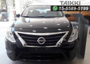 Nissan versa advance at 0km.