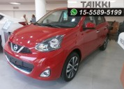 Vendo nissan march advance 0km.