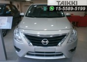 Nissan versa exclusive at 0km, entrega inmediata