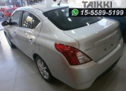 Nissan versa advance mt 0km.