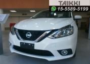 Nissan sentra sr cvt 0km, entrega inmediata, contado/financiado, tasa 0  taikki autos