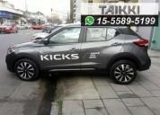 Nissan kicks advance mt 0km, entrega inmediata