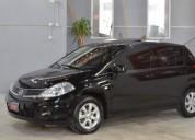 Excelente nissan tiida 1.8 6mt visia nafta 5 puertas 2009 color negro