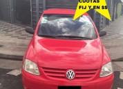 Volkswagen fox 1.6 full 2006 3/p naf/gnc, contactarse.
