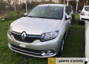 Renault logan minimo anticipo.