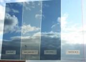 Colocación de laminas polarizadas