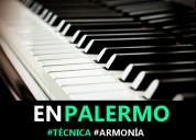 Clases de piano z/ palermo almagro