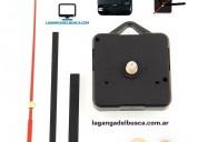 Maquinas para reloj ideal para artesanias completa con agujas marca la ganga del busca,insertos