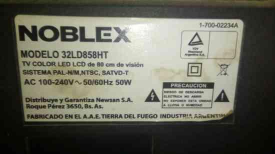 Placa Main para noblex 32ld858HT