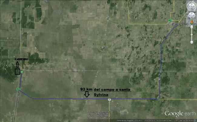 Vendo 57 hectareas excelente suelo agricolaganadero Santiago del Estero.