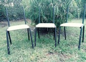 3 sillas para restaurar