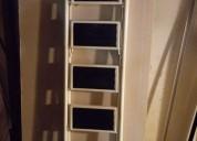 Escalera de chapa como nueva seis escalones