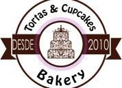 Tortas y cupcakes bakery. pastelería artesanal