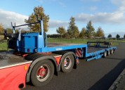 Vendo semi trailer