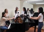 Clases de piano escuela clasica