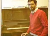 Clases de piano en belgrano.-