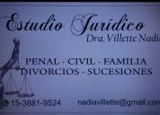 Sucesiones/divorcio- villette abogada