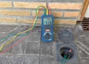 Protocolo de medición de puesta a tierra