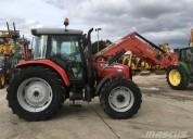 Massey ferguson 5460 tractor - tractor de granjamá