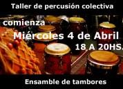 El taller de percusión colectiva