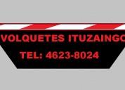 Volquetesituzaingo: alquiler volquetes tel46238024