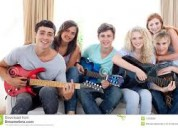 Profesora guitarra villa mitre chicos y adolescent