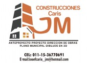 Tecnico superior en proyecto y const. de obras