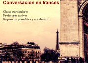 ¡no pierdas tu francés! clases de conversación en