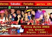 Canto bar show karaoke  mastropueblo